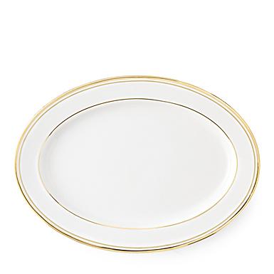 Ralph Lauren China Wilshire Gold Oval Platter, Single