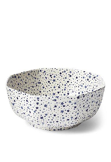 Ralph Lauren China Midnight Sky Octagonal Bowl, Light Blue