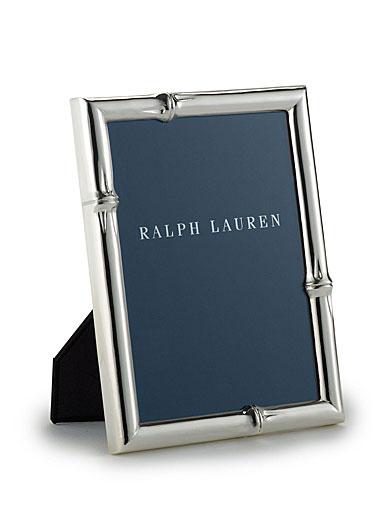 "Ralph Lauren Bryce Bamboo 4x6"" Picture Frame"