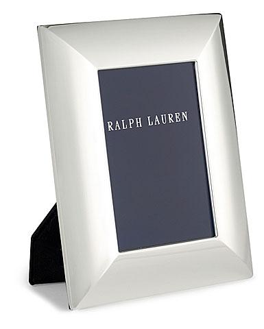 "Ralph Lauren Beckbury 4x6"" Picture Frame, Silver"