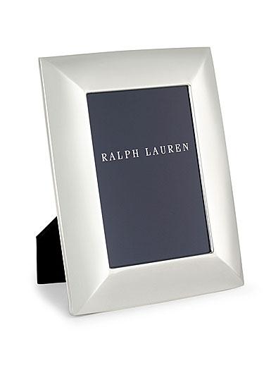 "Ralph Lauren Beckbury 5x7"" Picture Frame, Silver"