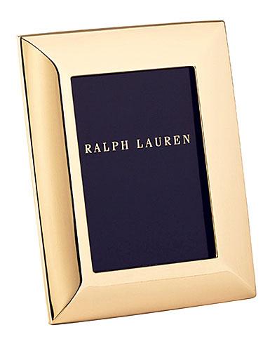 "Ralph Lauren Beckbury 5x7"" Picture Frame, Gold"