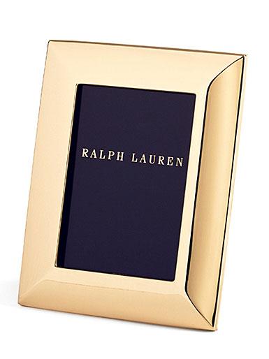 "Ralph Lauren Beckbury 8x10"" Picture Frame, Gold"