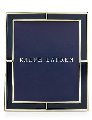 "Ralph Lauren Classon 8x10"" Frame, Navy"