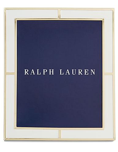 "Ralph Lauren Classon 8x10"" Frame, White"