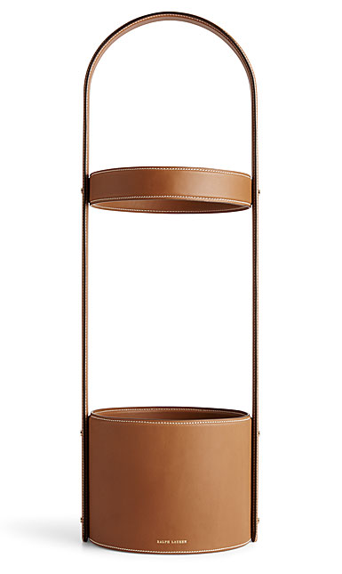 Ralph Lauren Brennan Umbrella Stand, Saddle