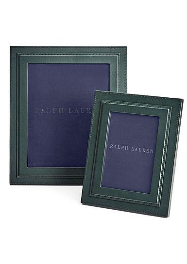 """Ralph Lauren Brennan 5""""x7"""" Picture Frame, Lodin Green"""