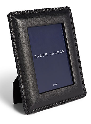"Ralph Lauren Faye 5""x7"" Frame, Black"