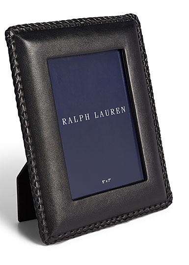 "Ralph Lauren Faye 8""x10"" Frame, Black"