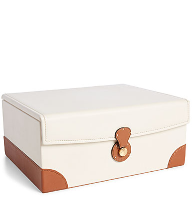 Ralph Lauren Ryan Box, Cream and Saddle