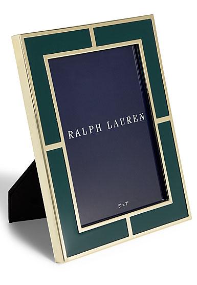 """Ralph Lauren Classon 8""""x10"""" Frame, Green"""