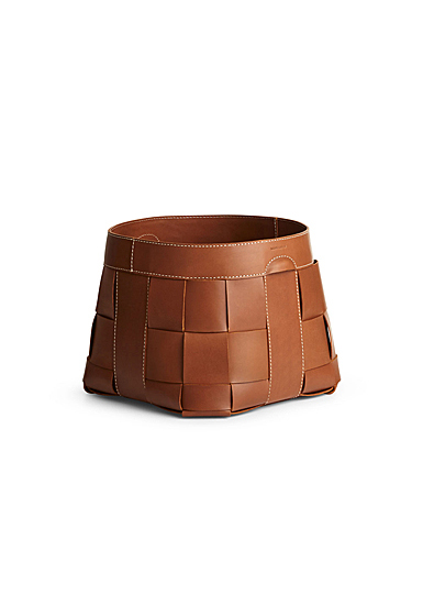 Ralph Lauren Hailey Small Basket, Saddle