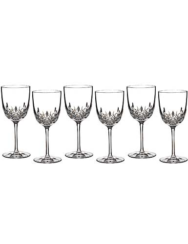 Waterford Lismore Encore Red Wine Goblet, Boxed Set 5+1 Free