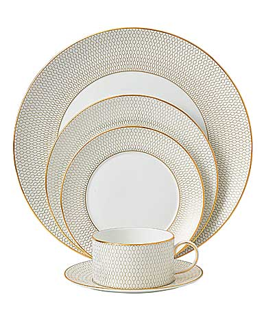 Wedgwood China Arris, 5 Piece Place Setting