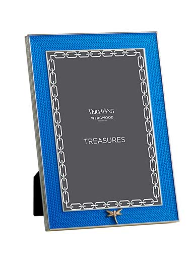 Vera Wang Wedgwood Treasures With Love Blue Dragonfly 4x6 Frame