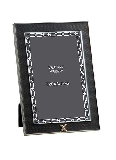 Vera Wang Wedgwood Treasures With Love Noir x Treasure 4x6 Frame