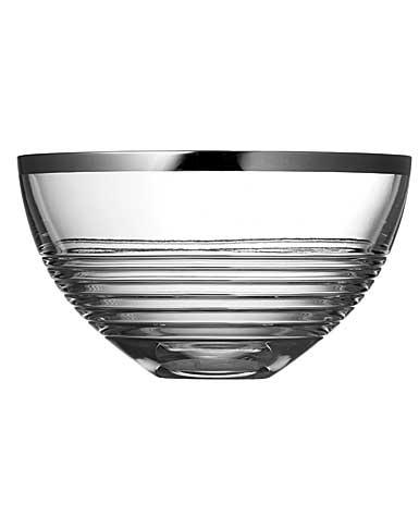 "Vera Wang Wedgwood, Grosgrain Nouveau 10"" Crystal Bowl"