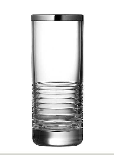"""Vera Wang Wedgwood, Grosgrain Nouveau 8"""" Crystal Vase"""