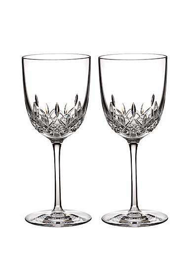 Waterford Lismore Encore Red Wine Goblet, Pair