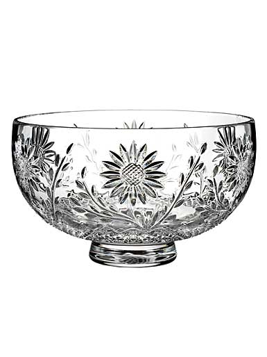 "Waterford Crystal, House of Waterford Sunflower 10"" Crystal Bowl"