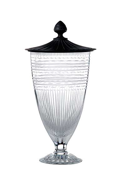 Wedgwood Iconic Crystal Vase with Jasper Lid, Large