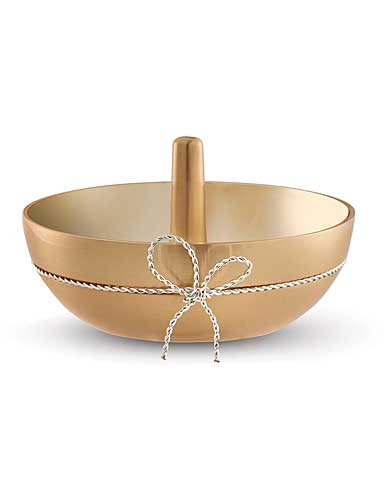 Vera Wang Wedgwood Love Knots Gold Ring Holder