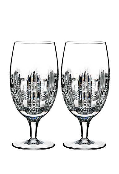 Waterford Crystal, Essentially Dungarvan Crystal Iced Beverage, Pair
