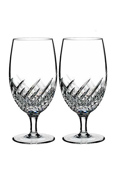 Waterford Crystal, Essentially Wave Crystal Iced Beverage, Pair