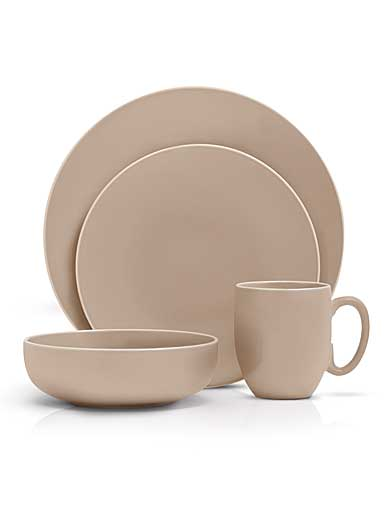 Vera Wang Wedgwood Vera Color 16 Piece Set, Taupe