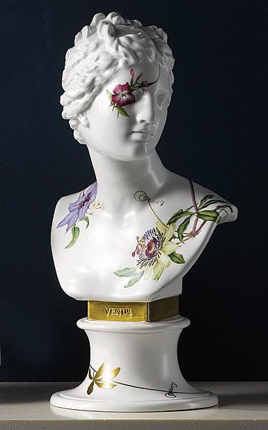 Wedgwood Floral Eden Venus Bust