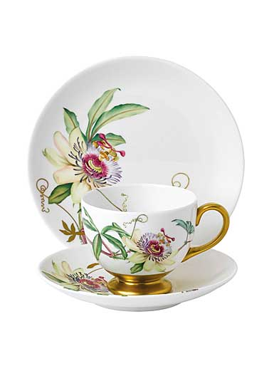 Wedgwood Floral Eden 3-Piece Set, Passion Flower