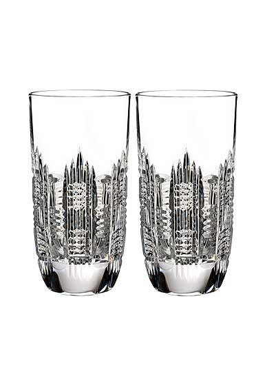 Waterford Crystal, Dungarvan Crystal Hiball, Pair