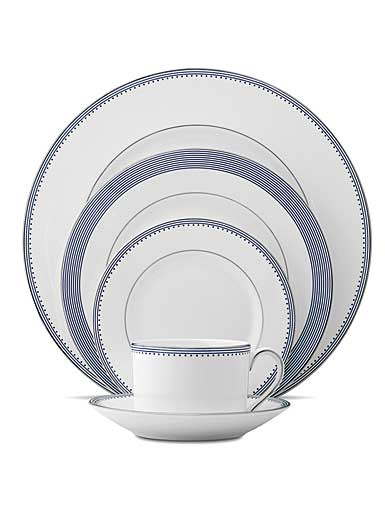 Vera Wang Wedgwood China Grosgrain Indigo, 5 Piece Place Setting