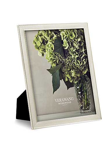 "Vera Wang Wedgwood With Love Nouveau 8""x10"" Picture Frame, Pearl"