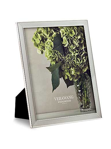 "Vera Wang Wedgwood With Love Nouveau 8""x10"" Frame, Silver"