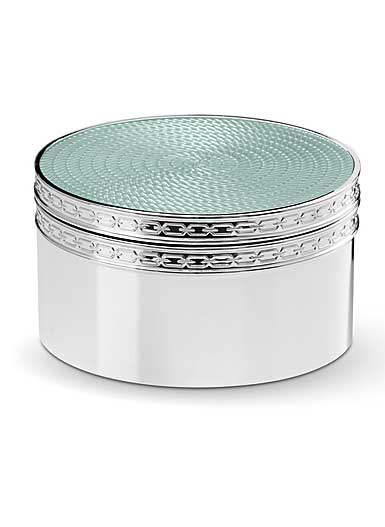 Vera Wang Wedgwood With Love Nouveau Covered Box, Mist