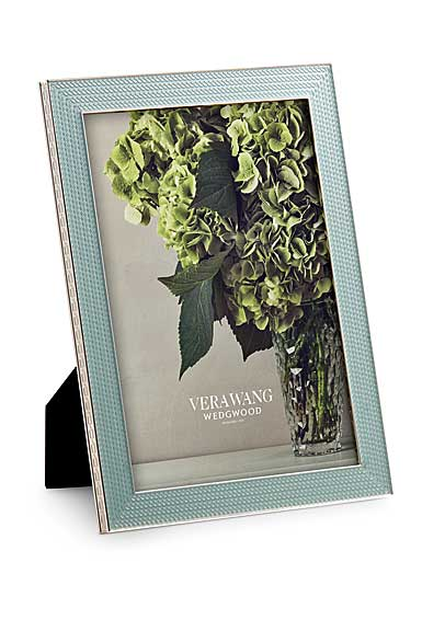Vera Wang Wedgwood With Love Nouveau 5x7 Frame, Mist