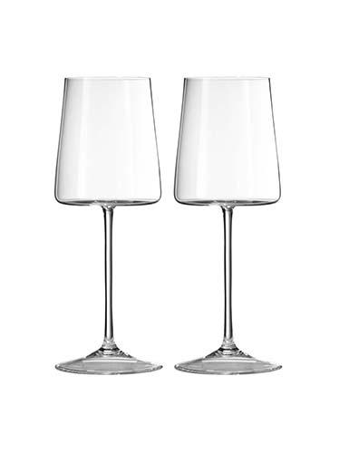 Vera Wang Wedgwood, Vera Metropolitan Crystal Wine, Pair