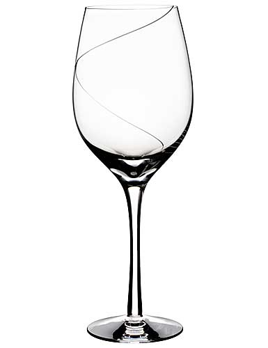 Kosta Boda Line Crystal Goblet, Single