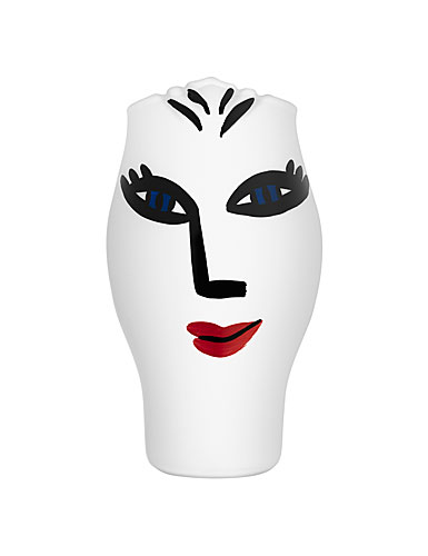 Kosta Boda Open Minds Crystal Vase, White