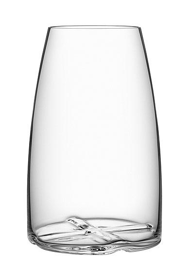 Kosta Boda Bruk Crystal Vase, Clear