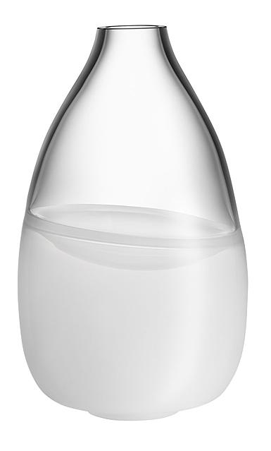 """Kosta Boda Crystal Septum White 12.5"""" Vase Limited Edition 300"""