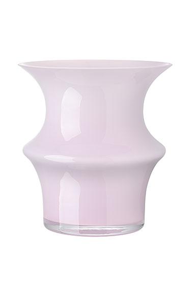Kosta Boda Pagod Small Vase, Pink