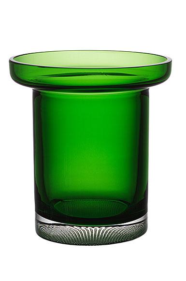 Kosta Boda Limelight Tulip Vase Green
