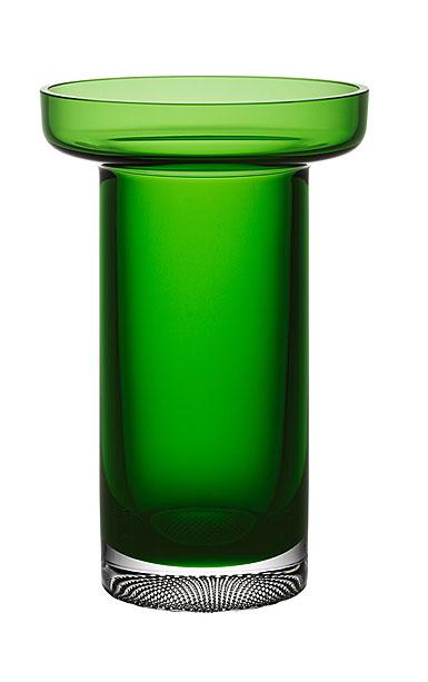 Kosta Boda Limelight Rose Vase Green