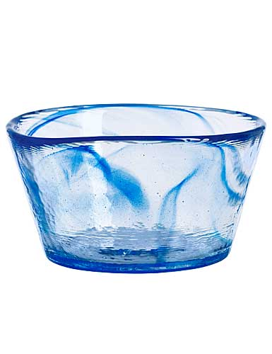 Kosta Boda Mine Bowl Blue