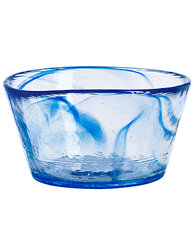 "Kosta Boda Crystal Mine Blue 5.25"" Bowl"