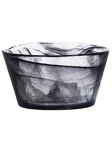 "Kosta Boda Mine 5 3/8"" Bowl, Black"