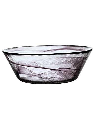 Kosta Boda Mine Extra Large Bowl, Black