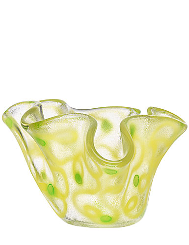 Kosta Boda Happy Going Small Bowl, Yellow, 3 1/2in H
